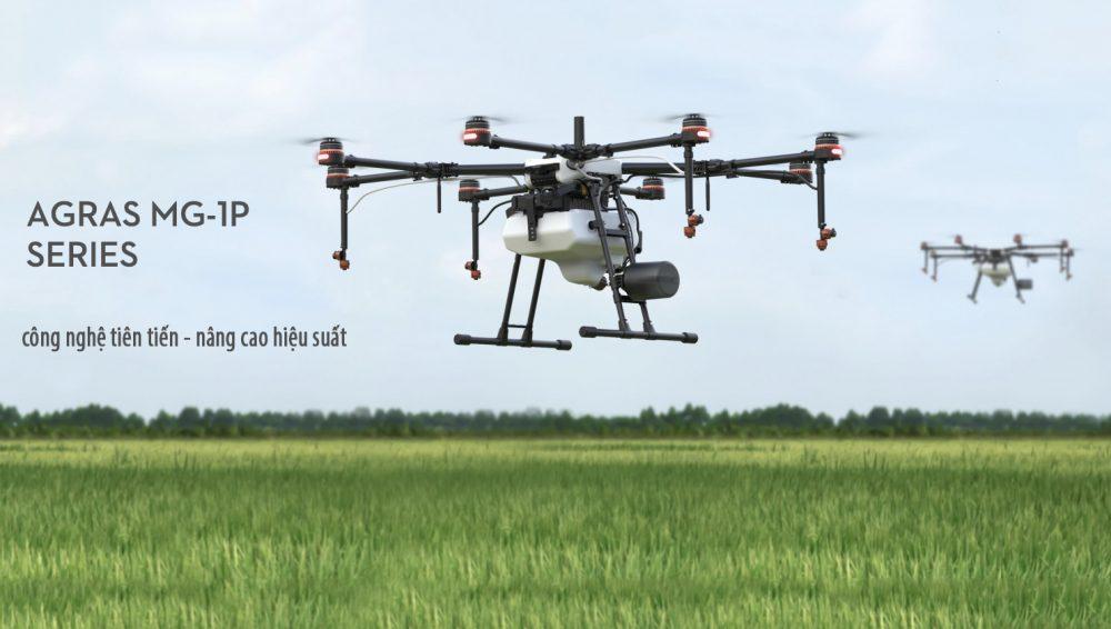 DJI Agras MG-1P: máy bay phun thuốc bảo vệ thực vật tiên tiến nhất