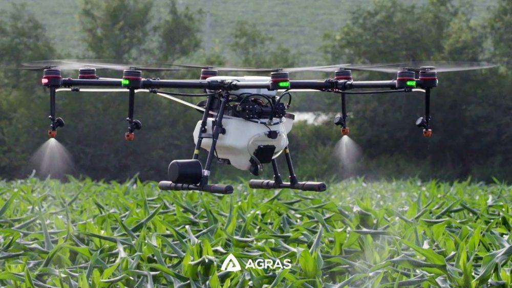 Máy bay nông nghiệp DJI Agras MG-1P thay đổi ngành nông nghiệp - photo 1