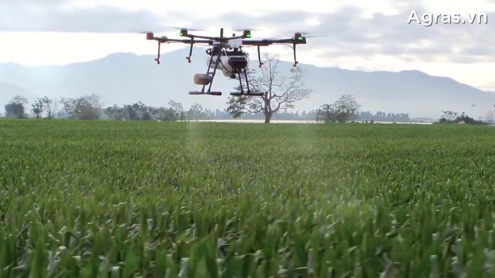 Máy bay nông nghiệp DJI Agras MG-1P thay đổi ngành nông nghiệp - photo 2