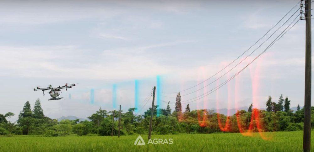 Radar tránh chướng ngại vật của Máy bay phun thuốc MG-1P