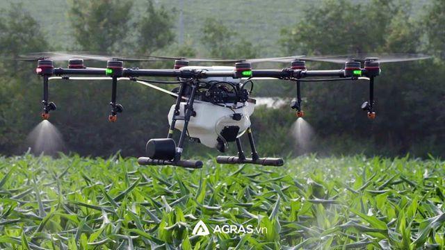 AGRAS.VN phân phối chính hãng Máy bay phun thuốc thế hệ mới MG-1P