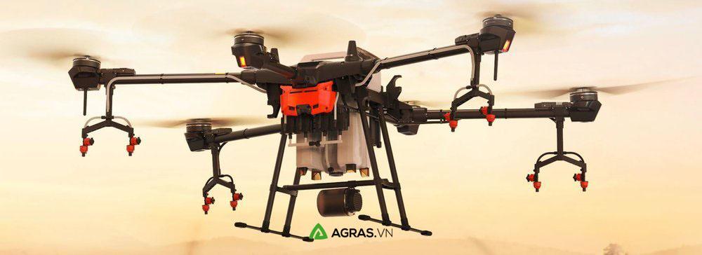 Máy bay phun thuốc trừ sâu, bảo vệ thực vật T16 - agras.vn - ảnh 1