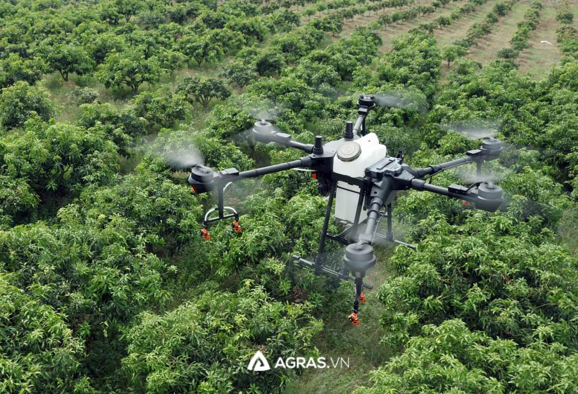 Máy bay phun thuốc trừ sâu, bảo vệ thực vật T16 - agras.vn - ảnh 3