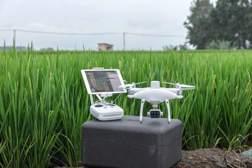 Máy bay nông nghiệp Phantom 4 Multispectral - agras.vn - ảnh 7